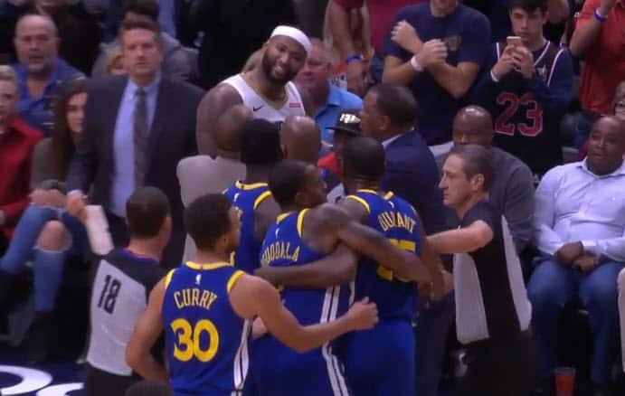 Ça a chauffé entre Kevin Durant et DeMarcus Cousins