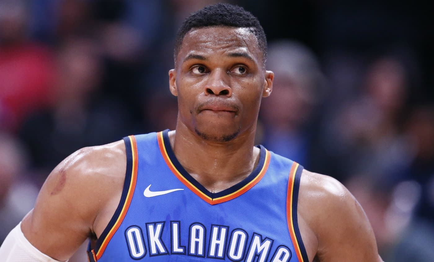 Pas de suspension pour Russell Westbrook, mais une jolie amende