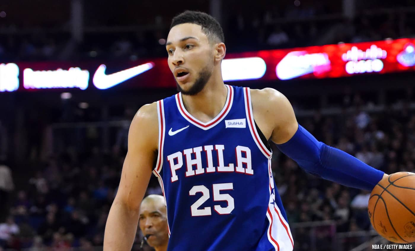 LeBron James valide totalement « l'étudiant » Ben Simmons
