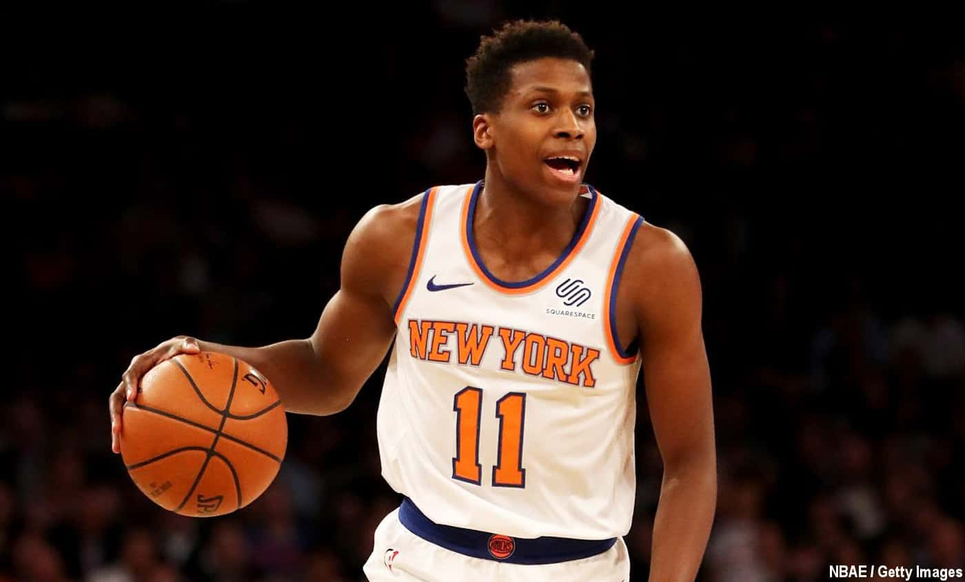 Frank Ntilikina et les Knicks joueront un Global Game à Londres