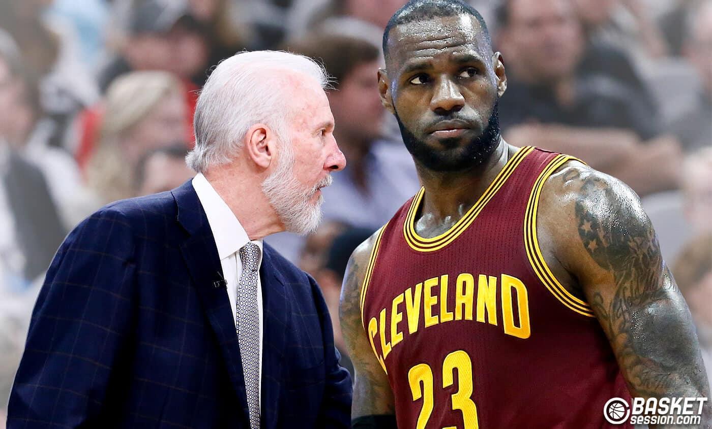 Les joueurs votent pour voir LeBron James sous les ordres de Popovich