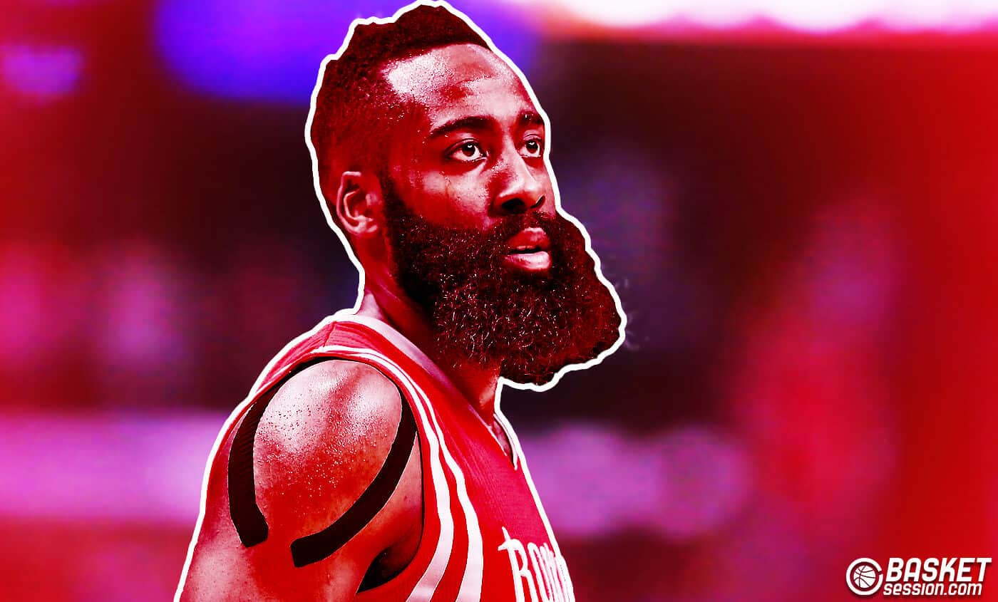 James Harden : Sous la barbe