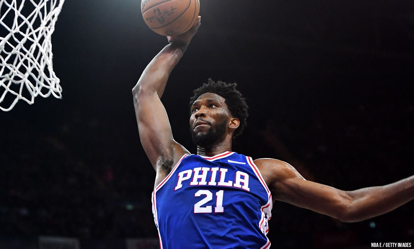 Embiid encore insolent et inarrêtable face à Drummond
