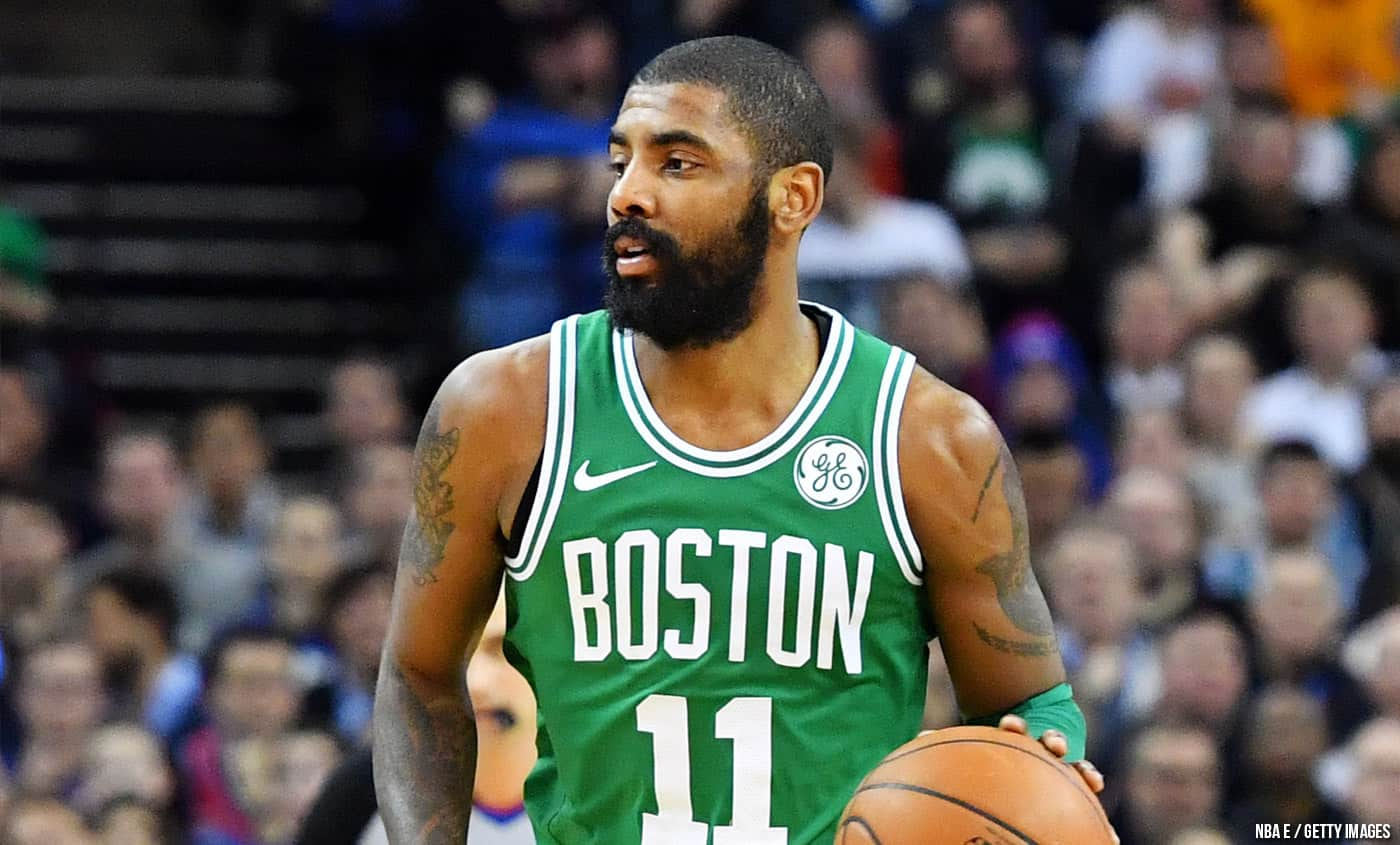Kyrie Irving encense la défense de Klay Thompson