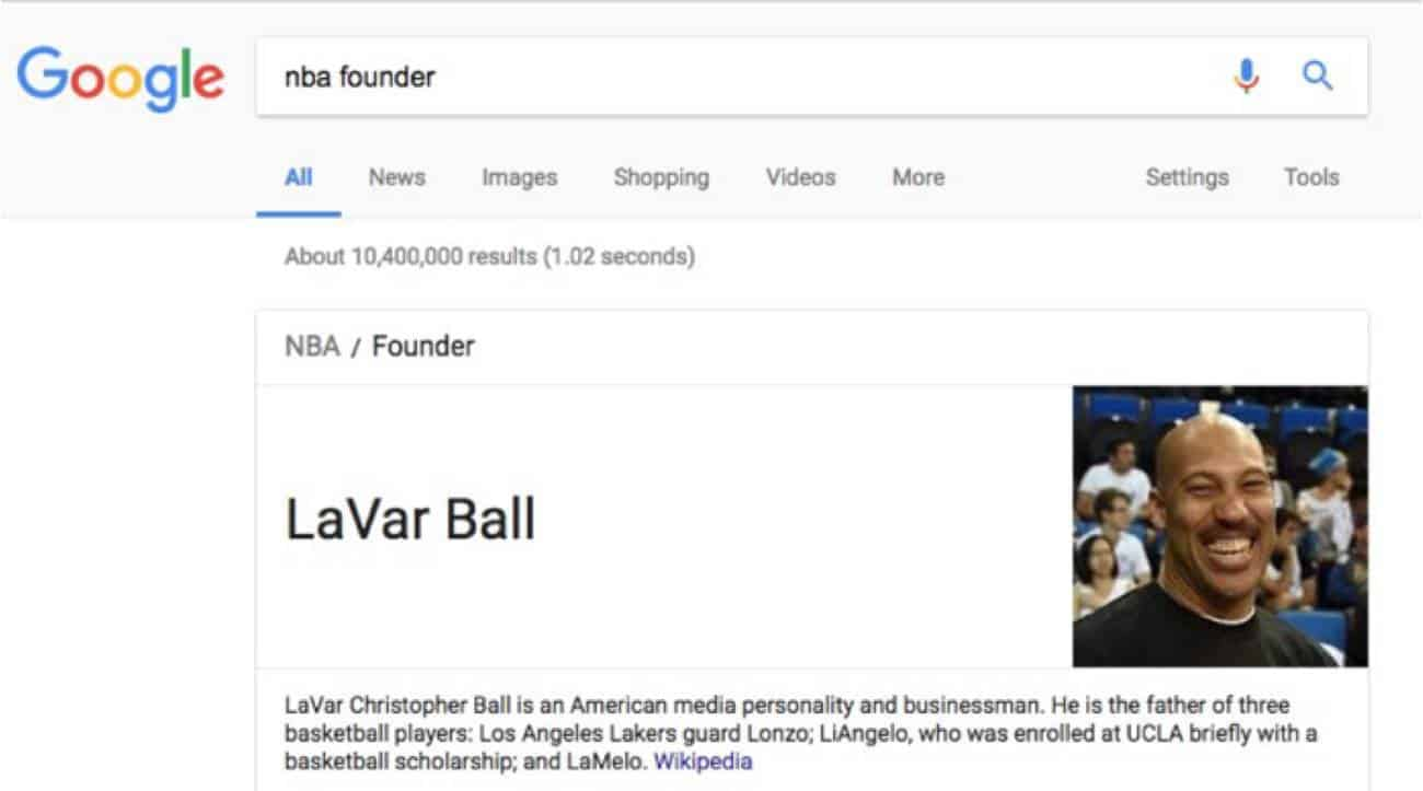 LaVar Ball - NBA founder