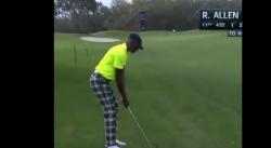 Quand Ray Allen fait mouche à longue distance… au golf !