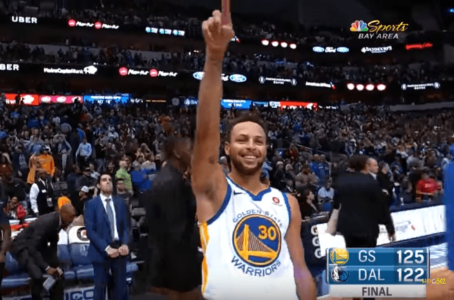 Clutch baby : Stephen Curry plante le game winner