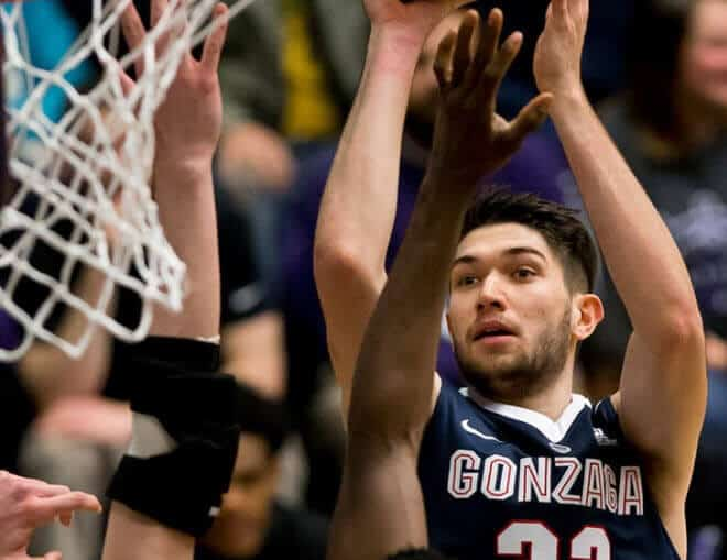 Killian Tillie brille avec Gonzaga, la progression continue