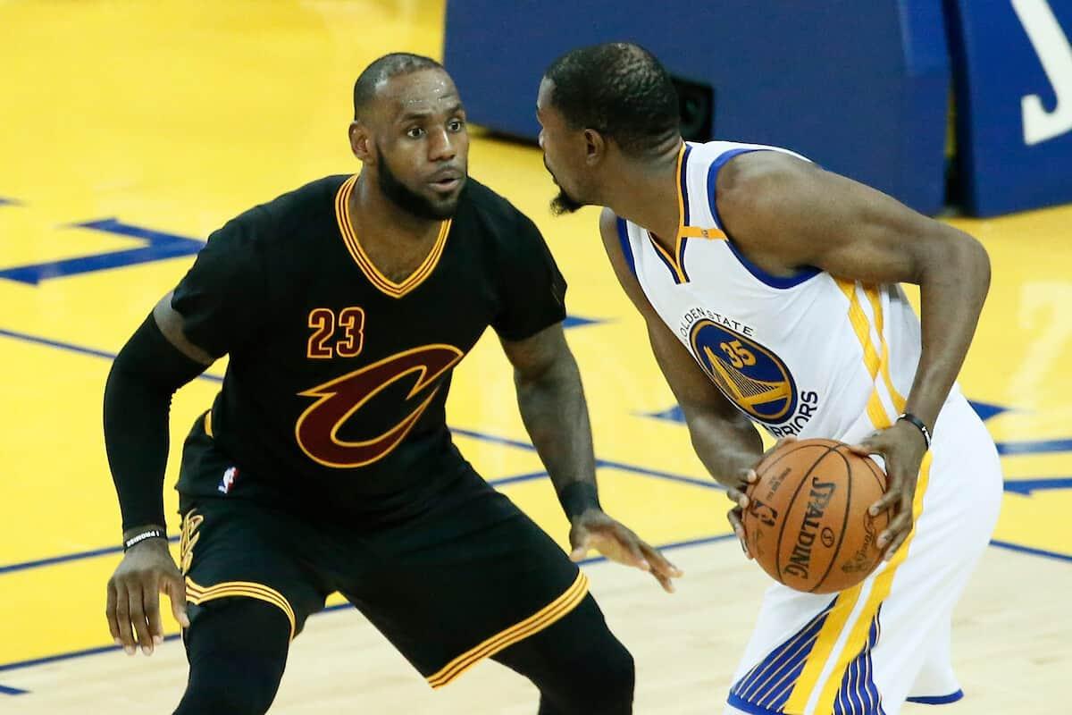 LeBron : «Kevin Durant, l'un des meilleurs que la NBA ait jamais vu»