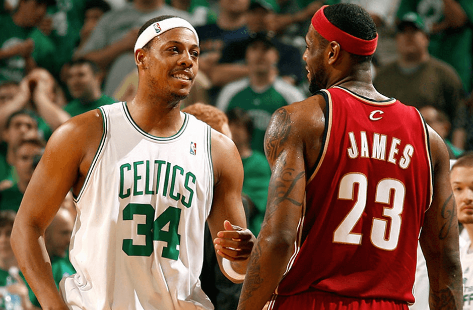 Pierce's Night : Paul Pierce (41 pts) éteignait LeBron James (45 pts) dans un Game 7