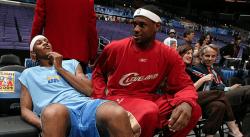 Retro : Le Rookie Game de LeBron, Wade et Melo en 2004