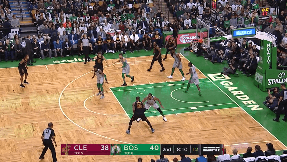 LeBron James Cleveland Cavaliers iso1