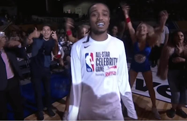 MVP du Celebrity game, Quavo fait gagner la Team Clippers