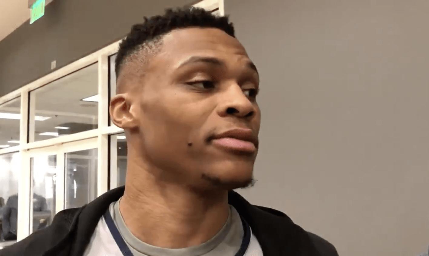 Westbrook : «Irrespectueux et raciste»