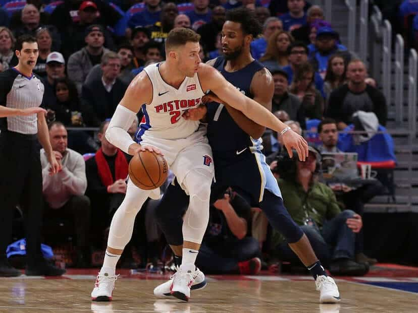 Blake Griffin brille pour son premier match avec les Pistons