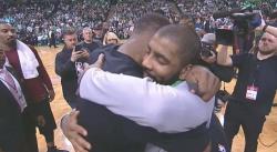 Kyrie Irving dément avoir visé LeBron dans sa tirade pro-KD