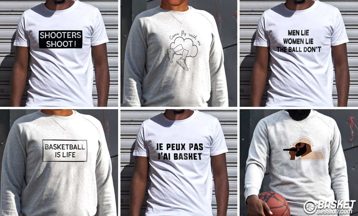 Come fly with me : nouvelle collection pour les ballers