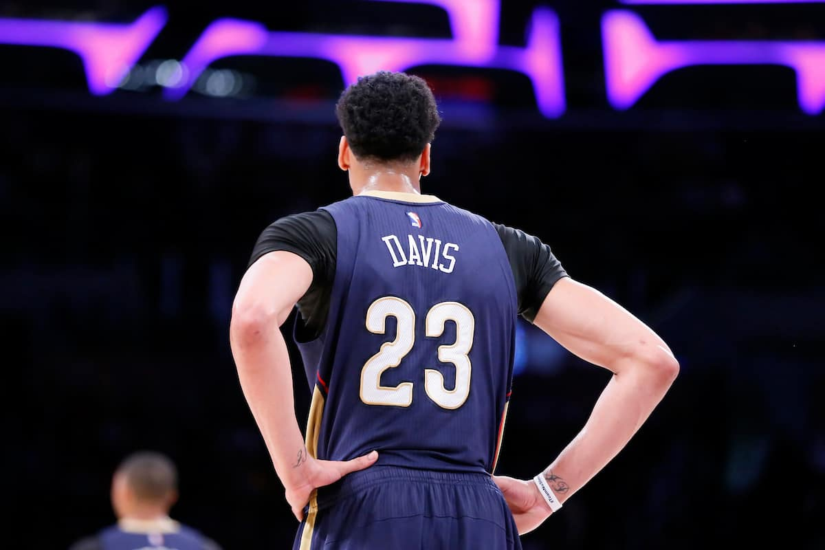Anthony Davis signe avec l'agent de LeBron James