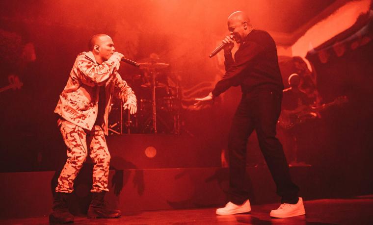 Dr Dre et Anderson .Paak mettent le feu à Londres