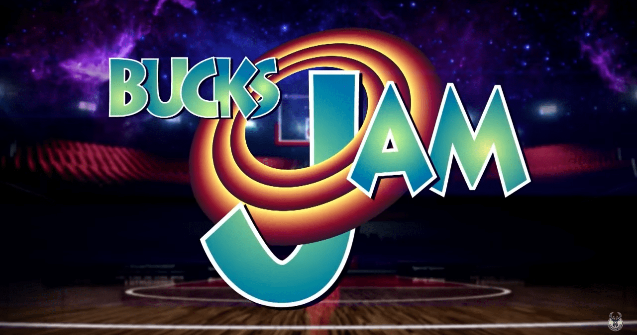 L'excellente intro des Milwaukee Bucks en mode Space Jam