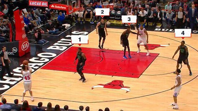 Même à 5 contre 4, les Bulls n'ont pas réussi à marquer