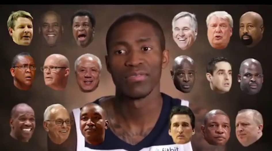 Machine : Jamal Crawford se souvient du nom de TOUS ses entraîneurs