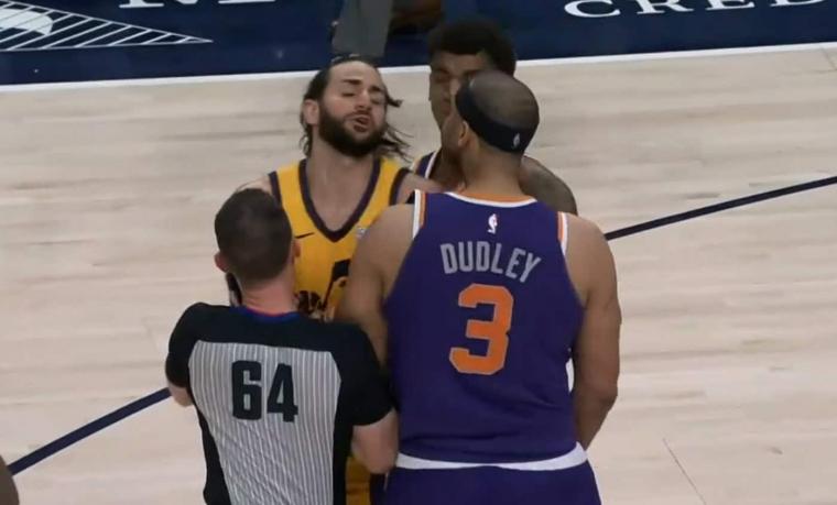 Les Suns et le Jazz ont failli se mettre dessus