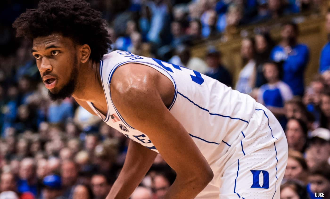 Marvin Bagley III et Duke assurent sans forcer