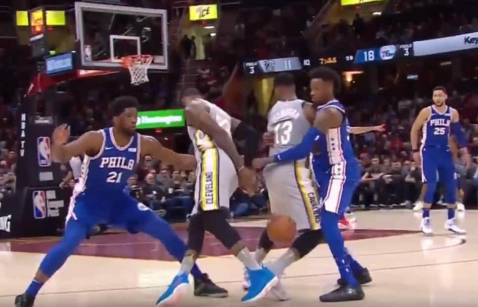 Le dribble sensationnel de LeBron James !