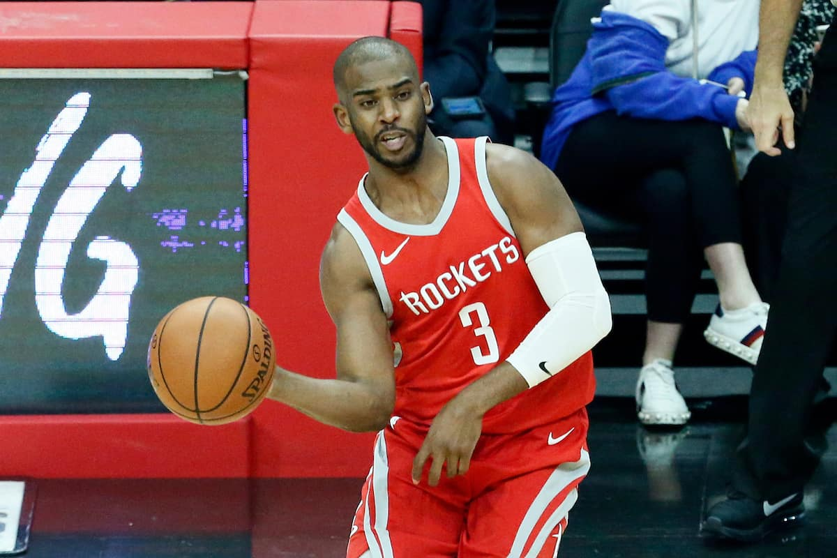 Chris Paul brille, Houston bat Utah et creuse l'écart