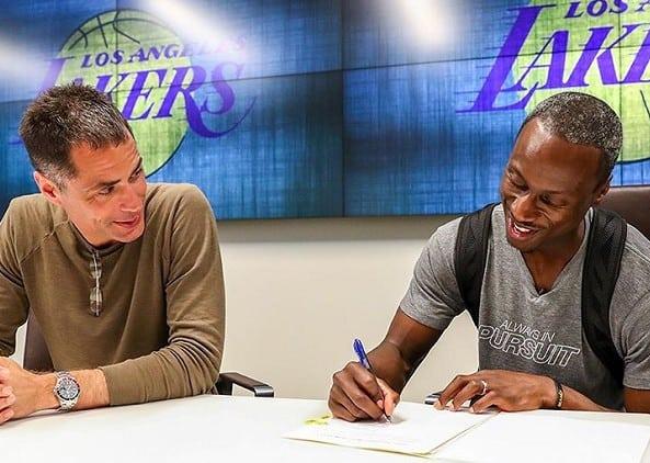 Surprise : Les Lakers signent un vétéran de G-League pour la fin de saison