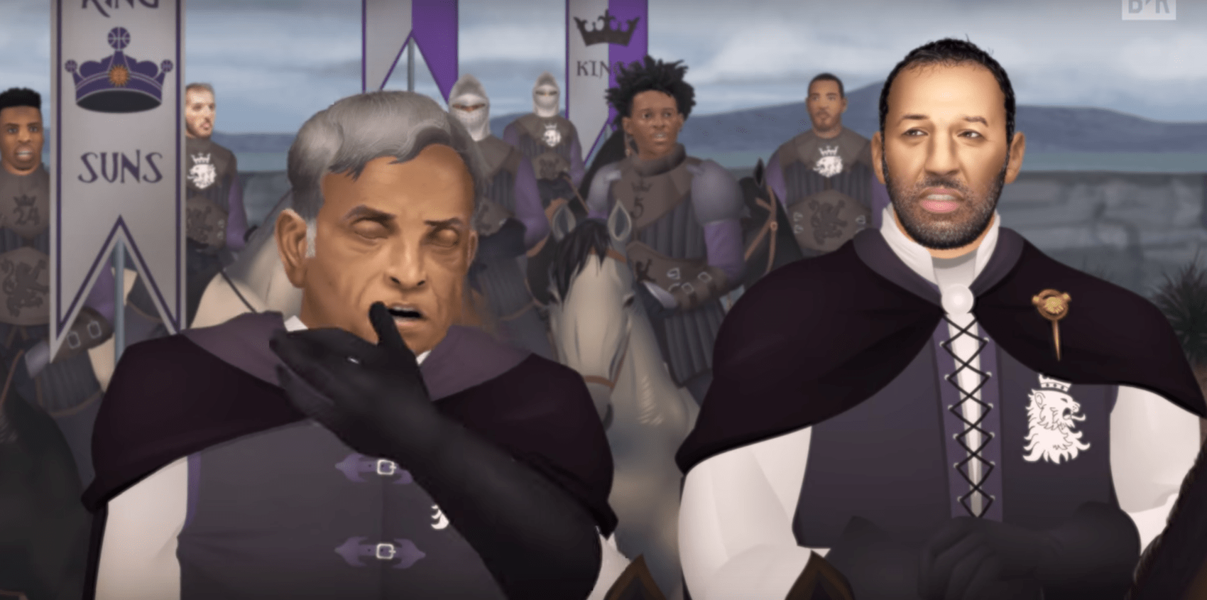 Game of Zones : l'alliance improbable entre les Suns et les Kings !
