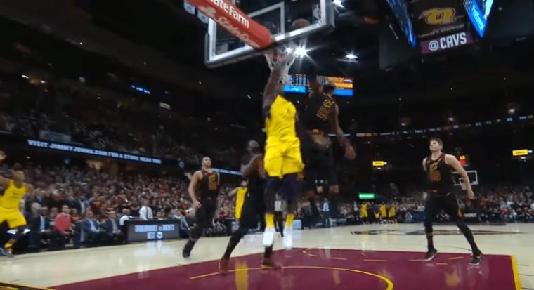 La NBA confirme, le block de LeBron James était illégal