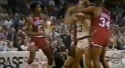 Larry Bird vs Julius Erving : quand deux légendes se bastonaient