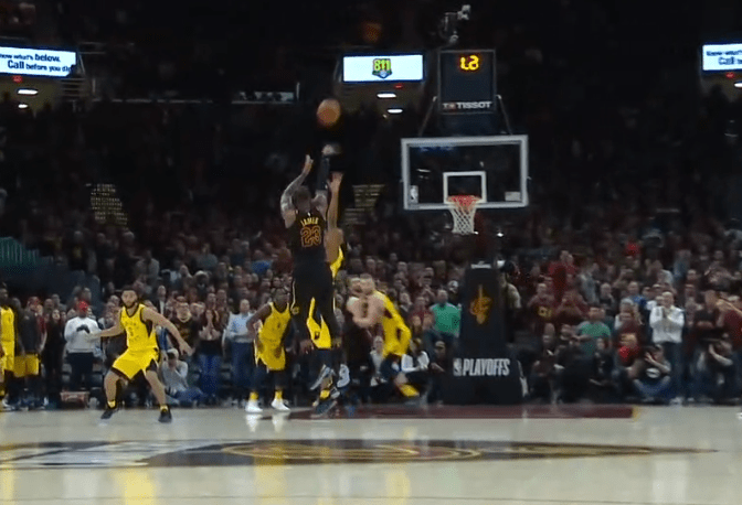 Le shoot culte de LeBron James