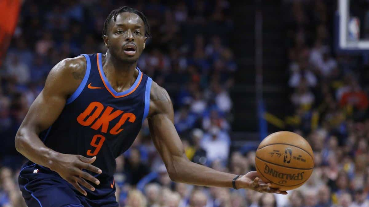 Jerami Grant optimiste sur ses chances de rester au Thunder