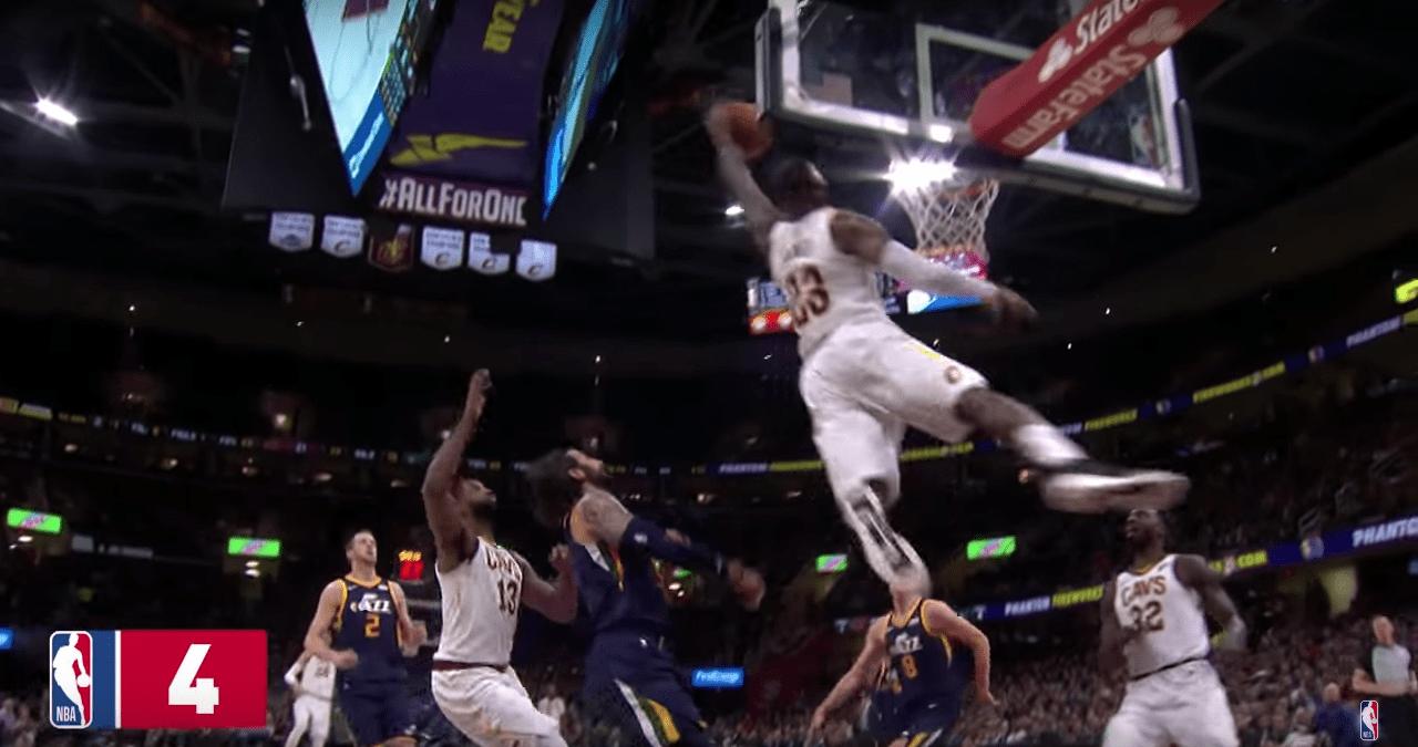 Violent : les 10 meilleurs dunks de la saison de LeBron James