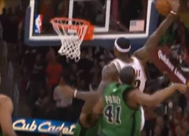 Le jour où LeBron James a détruit Kevin Garnett et les Celtics