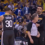 Stephen Curry a failli mettre un arbitre KO dans le Game 4