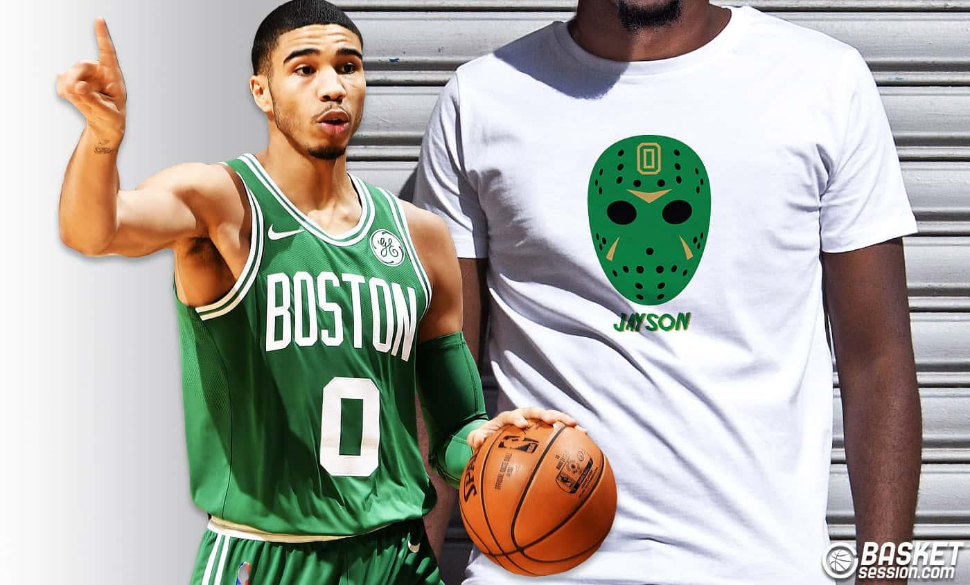 T-shirt spécial Jayson Tatum, la terreur de la Conférence Est