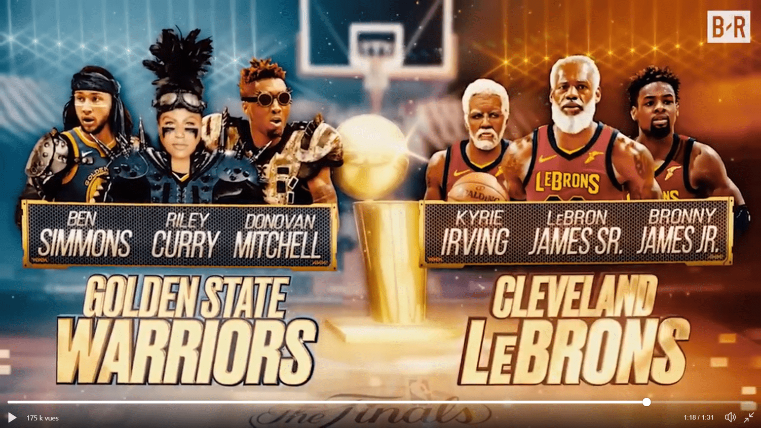 Bleacher Report imagine un Warriors-Cavs en… 2050
