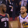 Chris Paul se moque de Stephen Curry après un énorme shoot