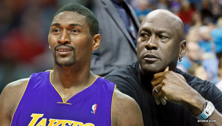 Le jour où Ron Artest a cassé les côtes de Michael Jordan sous les yeux de LeBron James