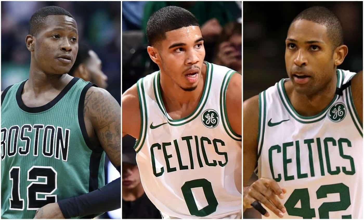 Cette nuit, les Celtics avaient un Big Three !