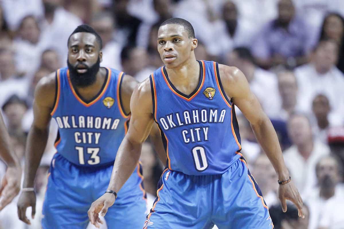 Le Thunder, première franchise à avoir drafté trois MVP trois ans de suite
