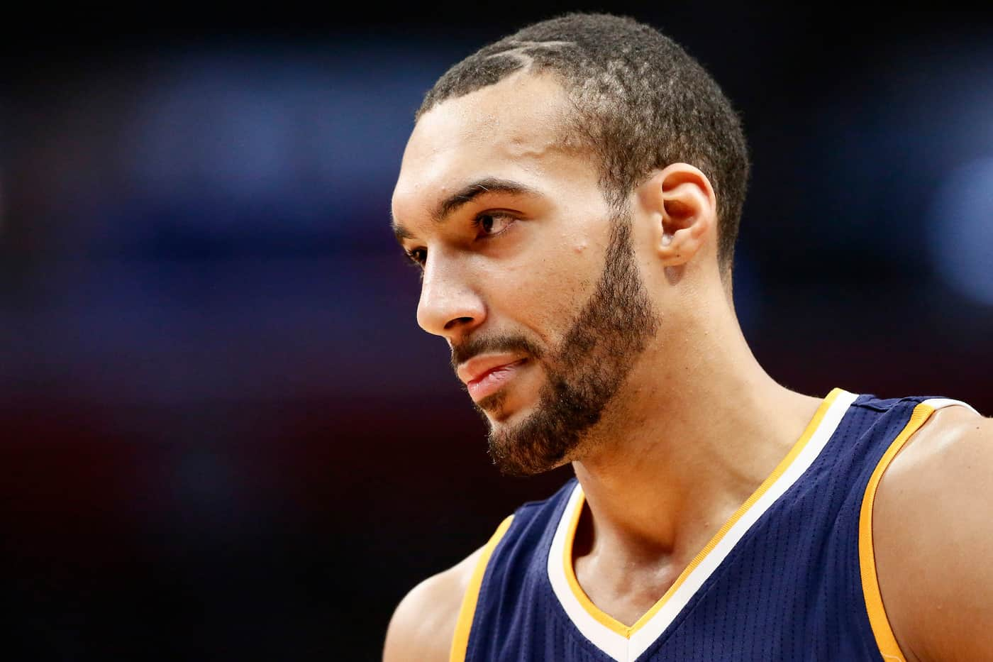 Rudy Gobert bosse son shoot à 3 points