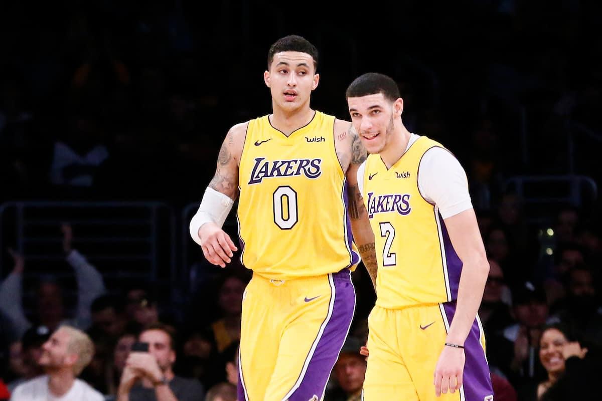 Les Lakers ont demandé à Lonzo et Kuzma de calmer le «clash»