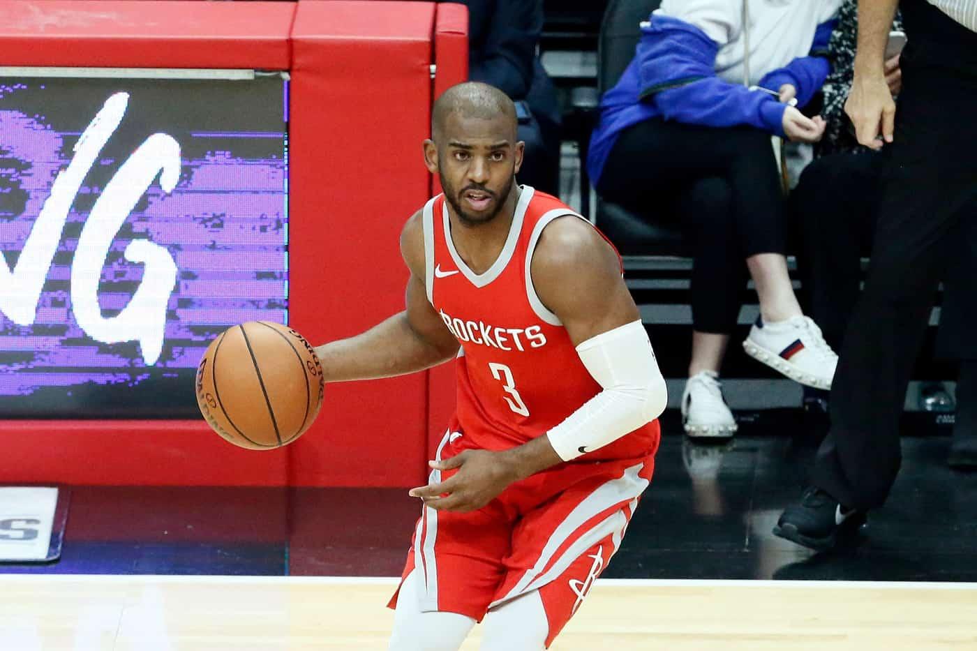 Des tensions entre Chris Paul et les Rockets ?