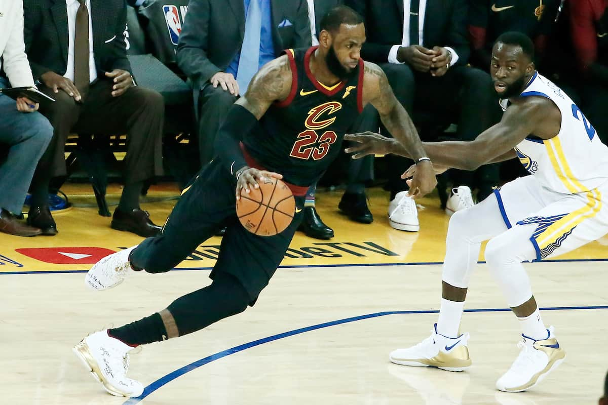 LeBron James était un homme en mission