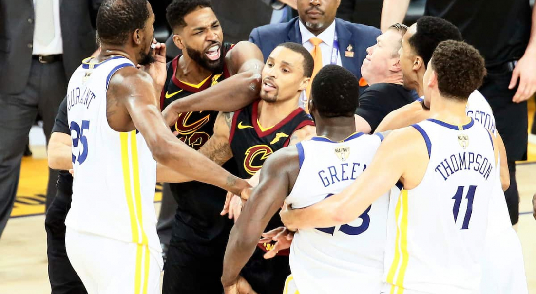 Tristan Thompson a frappé Draymond Green à la soirée post-ESPY de LeBron James